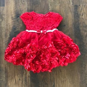 🎟 EUC Nanette Baby Red Rose top